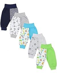 TupTam Unisex Baby Pumphose Jersey Schlupfhose 5er Pack