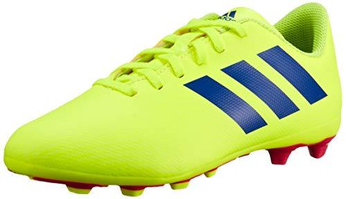 Adidas Nemeziz 18.4 FxG J, Botas de fútbol Unisex niño, (Multicolor 000), 38 EU