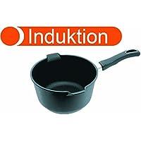 Original Gundel INDUKTION MILCHTOPF Ø18cm mit abnehmbarem Griff /& Glasdeckel!!