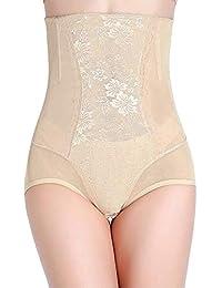 2305102a75abf U.S. CROWN Magic Wire No Rolling Down High Waist Tummy Tucker Women s  Shapewear with Beautiful self