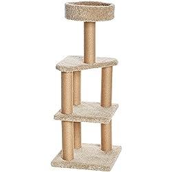 AmazonBasics - Árbol de gatos con postes rascadores - Grande
