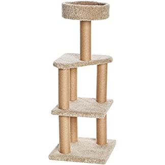 Amazon Basics Cat Tree with Scratching Posts - Large 18