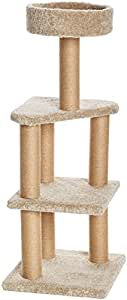 AmazonBasics Cat Tree with Scratching Posts - Large