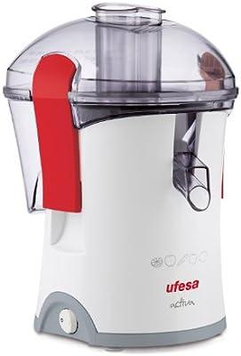 Ufesa Activa - Licuadora compacta, 800 W, filtro de acero inoxidable, sistema de seguridad, color blanco