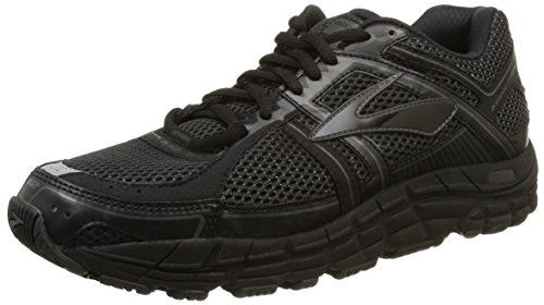Brooks Addiction 12, Chaussures de Running Compétition Homme Multicolore (Black/anthracite)