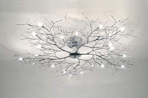 Lumidora Deckenleuchte Modern Metall Chrom Rund -