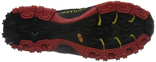 Chaussures De Course La Sportiva Bushido Flame, Couleur: Rouge Noir