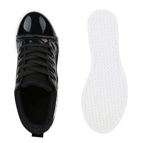 Japado , Sneakers Basses femme Schwarz