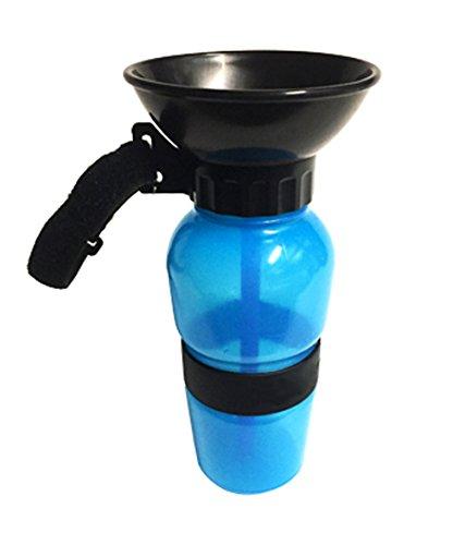 Portable Aqua Hund Reise Wasser Schüssel 18-Unzen Hund Flasche Auto Hund Becher für Haustiere Von Marchy (Squeeze-wasser-flaschen)