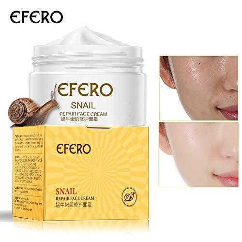 Uniqus efero 2pcs Snail Extract Face Cream Essence Repair Cream Deep Moisturizing Anti-aging Serum Anti Wrinkle Cream Instantly Ageless