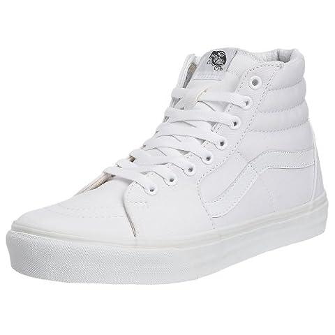 Vans SK8-HI, Unisex-Erwachsene Hohe Sneakers, Weiß (True White W00), 42 EU
