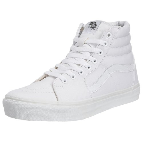 Vans Sk8-Hi, Sneakers Unisex Adulto, Bianco (True White W00), 42 EU