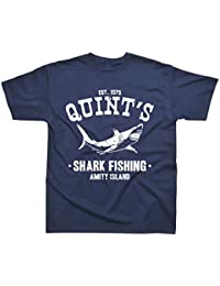 Quint's Shark Fishing Inspired by Jaws T-Shirt