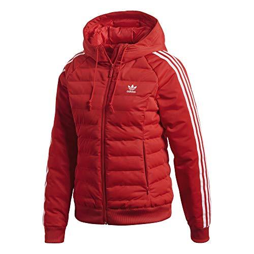 Adidas Damen Slim Jacke, mehrfarbig (Reared), 38