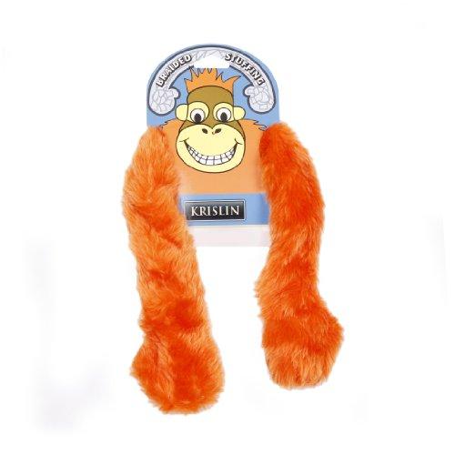 KRISLIN arm-a-mals Orang-Utan Spielzeug für Hunde (Orang-utan Hund Spielzeug)