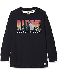 dab834c4f Scotch   Soda Long Sleeve tee with Colourful Artwork