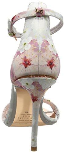 Ted Baker Charv, Sandales Bride Arrière Femme Multicolore (Oriental Blossom)