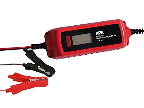 APA Batterieladegerät 6/12 Volt, 4 Ampere für PKW und Motorroller
