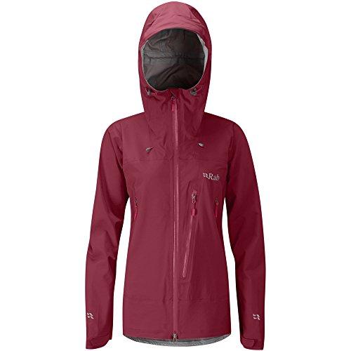 RAB Firewall Jacket Women Rococco Größe S 2019 Funktionsjacke Zip-front Roll