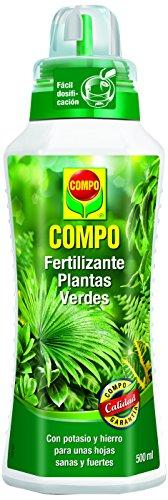 Compo 1443112011 Fertilizante Planta Verde 500 ml 23x7x6.3 cm