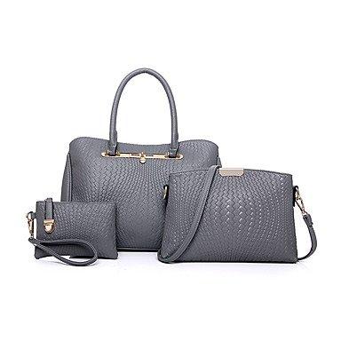 Le donne della moda classica borsa Crossbody,Nero Ruby