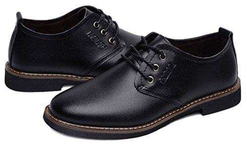 Fangsto  Dress Shoes, Chaussures à lacets homme Noir