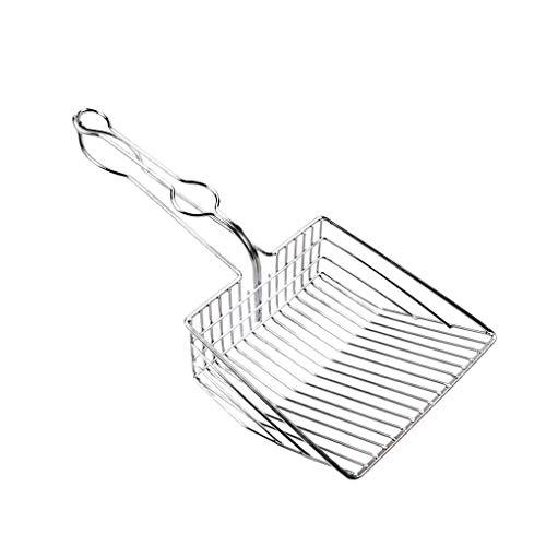 ELENXS Metall Pet Kitten Wurf Sand Schaufel Scoop Eisen Größere Größe Reinigung Griff Up Tool Haustier Supplies Auswahl