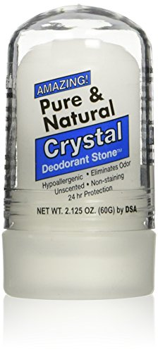 Thai Deodorant Stone - Pure And Natural Crystal Mini Stick - 2 oz