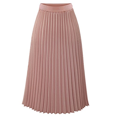 TEERFU Womens Ladies Summer Boho Pleated Skirt A-line for sale  Delivered anywhere in UK