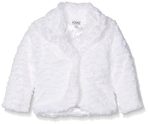 Kanz Mädchen Jacke Jacke 1/1 Arm, Gr. 74, Weiß (bright white 1000)