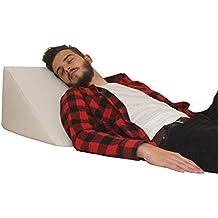 Almohada en forma de cuña, Soporte para la espalda en la cama, sala o