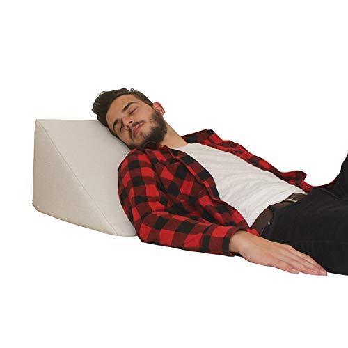 Almohada en forma de cuña, Soporte para la espalda en la cama,...