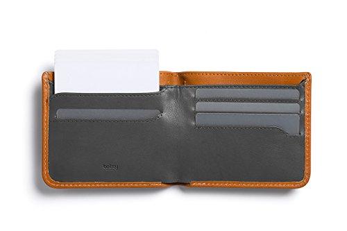 Bellroy Leather Hide & Seek Wallet Caramel – RFID