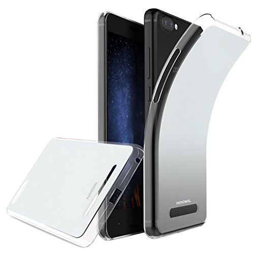 HOOMIL Doogee X20 Hülle, Silikon Transparent Handyhülle für Doogee X20 / X20L Schutzhülle Soft TPU Bumper Case Cover (Durchsichtig) - H3217