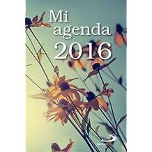 Mi Agenda 2016 Con Funda Transparente 30 x 29 (Calendarios y agendas)