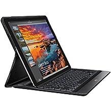 """Logitech Create - Funda con teclado inalámbrico retroiluminado y tecnología Smart Connector para iPad Pro 12.9"""", negro"""