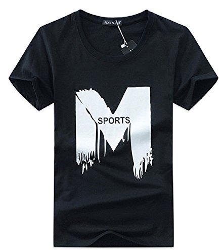 Men's sleeve O-neck hip hop Tee hombre T-shirt 12