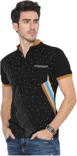 ADS Herren Poloshirt Schwarz - Schwarz