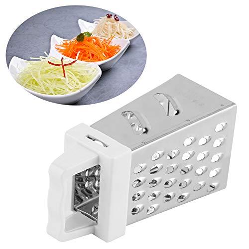 4lati grattugia in acciaio inox grattugia per formaggio verdure e frutta ginger grattugia shredder taglierina per uso domestico taglia libera silver