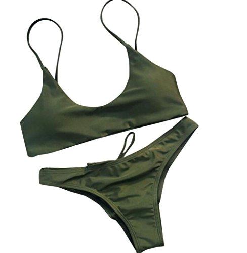 Costume da bagno donna Bikini Costume da bagno push-up fasciato ...