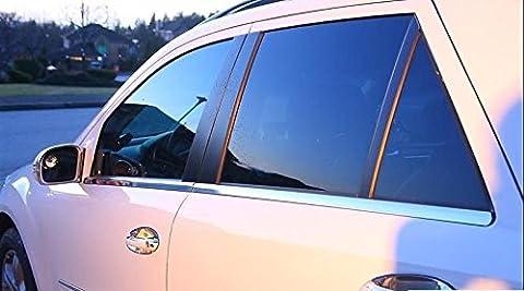 Classe Mercedes ML W164Barres de Fenêtre Chromé en acier inoxydable 4pièces
