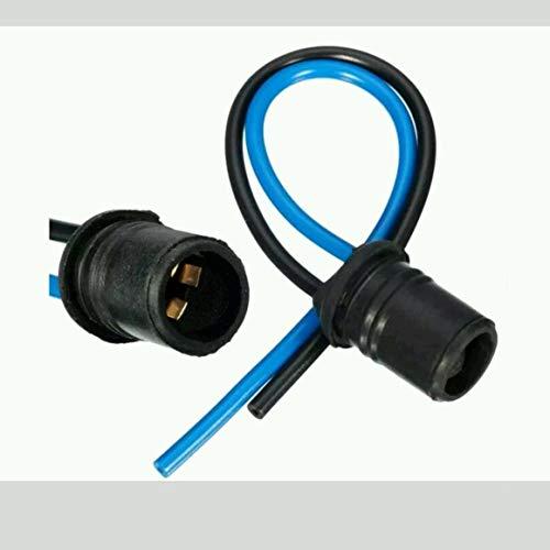 Funnyrunstore T10 / 501 // W5W / 194 Connecteur de support de douille d'extension pour ampoule LED SMD (Noir & bleu)
