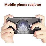 Noir picK-me Support de Refroidissement Portable pour t/él/éphone Portable Compatible avec Android et Apple Argent/é 1,5 x 3,5 cm