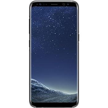 Samsung Original S8 Clear Phone Case Cover Black Amazon