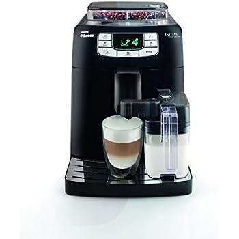 Saeco HD8753/11  Machine à Espresso Automatique Intelia One Touch Cappuccino Noire