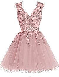 buy online f49b7 d9ce3 Amazon.it: vestito corto in tulle - Rosa: Abbigliamento