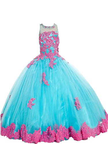 wealth-girls-appliques-wedding-party-gowns-kids-beauty-pageant-dress-12-us-blue-pink