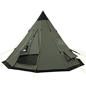 campfeuer - tipi teepee - tent, olive-green