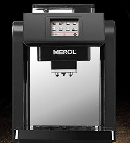 DSYLD Super-Automatische Kaffeemaschine Thermische Kaffeemaschine Programmierbare Kaffeemaschine in Küche Wohnzimmer Büro Schwarz Edelstahl Über 15 Tasse, 2000 ML (Farbe : Schwarz)