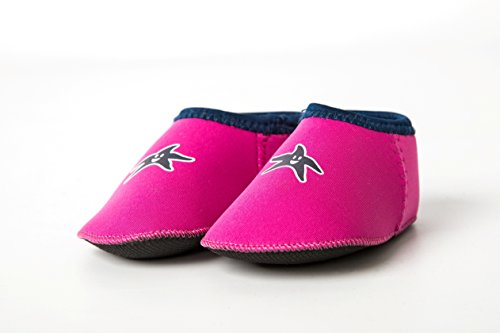 Shore Feet Plage Chaussures bébé rose 0-2 ans